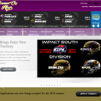 Crescent City Kings, Minor League Football Team